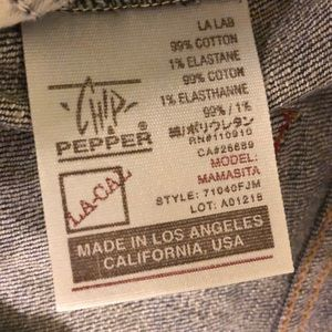 Chip & Pepper Jeans - LIKE NEW Chip and Pepper Maternity Jeans